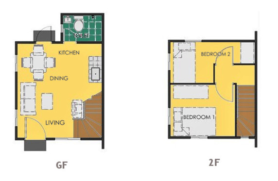 Ravena Floor Plan House and Lot in Pangasinan