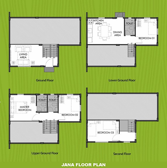 Janna Floor Plan House and Lot in Pangasinan