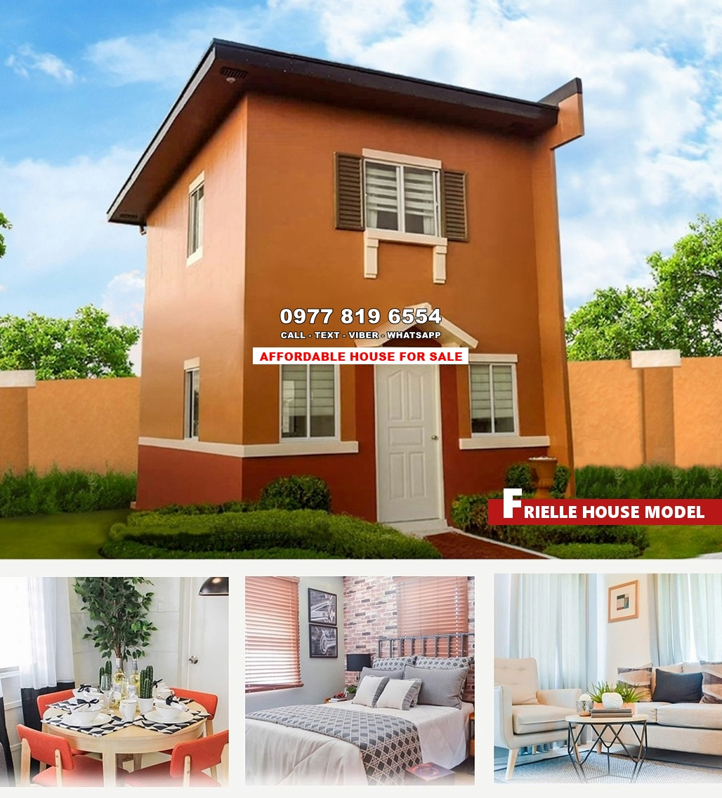 Frielle House for Sale in Pangasinan