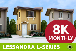 Lessandra Affordable Houses in  Camella Pangasinan