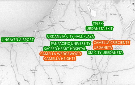 Pangasinan Property Vicinity Map